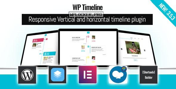 WP Timeline v3.5.3 – Responsive timeline plugin