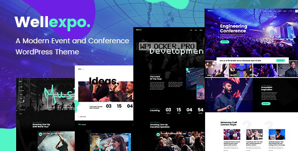 WellExpo v1.5 – Event & Conference Theme