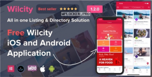 Wilcity v1.3.6 – Directory Listing WordPress Theme + App