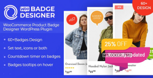 Woo Badge Designer v3.0.4 – WooCommerce Product Badge Designer WordPress Plugin