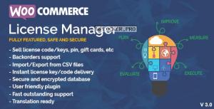WooCommerce License Manager v4.3.1