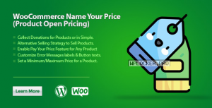 WooCommerce Name Your Price (Product Open Pricing) v2.1.0