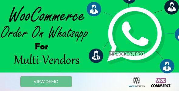 WooCommerce Order On Whatsapp for Dokan Multi Vendor Marketplaces v1.0