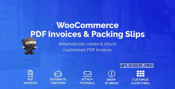 WooCommerce PDF Invoices & Packing Slips v1.3.1.6