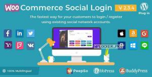 WooCommerce Social Login v2.3.4 – WordPress plugin