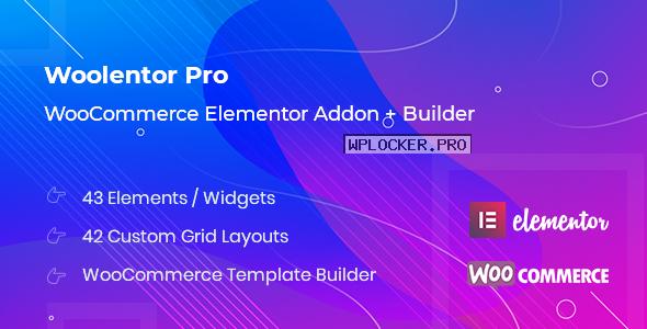 WooLentor Pro v1.5.6 – WooCommerce Elementor Addons