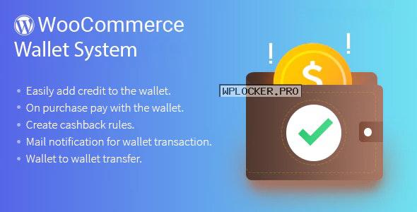 WordPress WooCommerce Wallet System Plugin v3.5.1