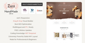 Zass v3.8.1 – WooCommerce Theme for Handmade Artists and Artisans