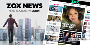 Zox News v3.7.0 – Professional WordPress News