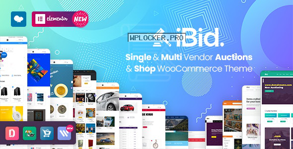 iBid v2.7 – Multi Vendor Auctions WooCommerce Theme