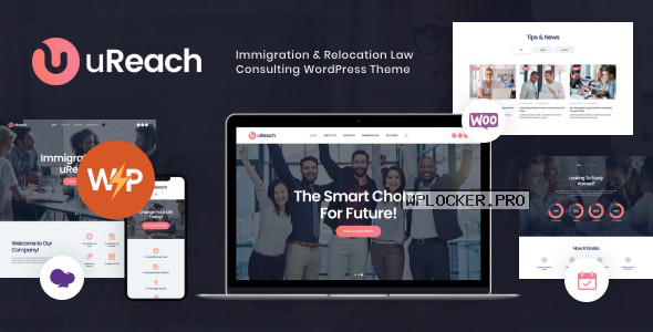 uReach v1.1.3 – Immigration & Relocation Law Consulting WordPress Theme