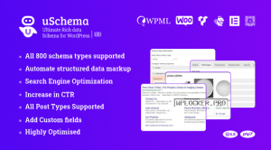 uSchema v2.1.2 – Ultimate Rich Data Schema for WordPress