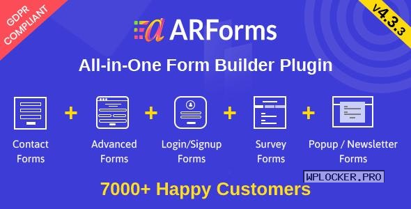 ARForms v4.3.3 – WordPress Form Builder Plugin