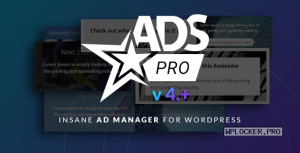 Ads Pro Plugin v4.3.9.6 – Multi-Purpose Advertising Manager