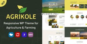 Agrikole v1.6 – Responsive WordPress Theme for Agriculture & Farming