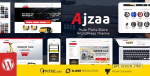 Ajzaa v2.8 – Auto Parts Store WordPress Theme