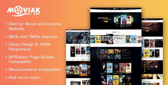 AmyMovie v3.5.1 – Movie and Cinema WordPress Theme