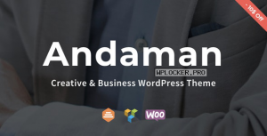 Andaman v1.1.3 – Creative & Business WordPress Theme