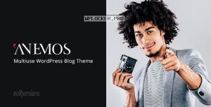 Anemos v2.3.1 – A Multiuse Blogging WordPress Theme