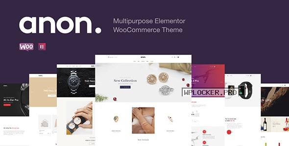Anon v1.7.4 – Multipurpose Elementor WooCommerce Theme