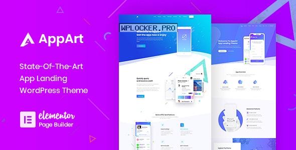 AppArt v2.8 – Creative WordPress Theme For Apps