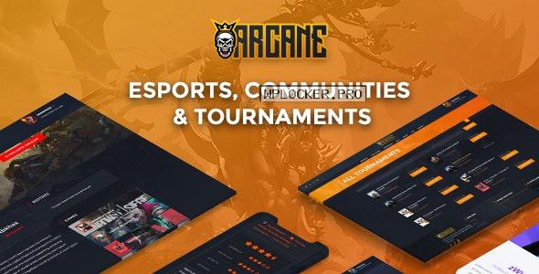 Arcane v3.5 – The Gaming Community Theme + Plugins
