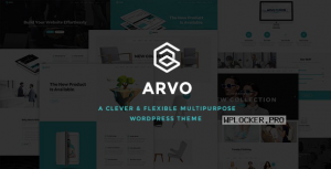 Arvo v2.4 – A Clever & Flexible Multipurpose Theme
