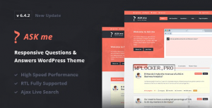 Ask Me v6.4.2 – Responsive Questions & Answers WordPress