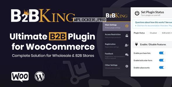 B2BKing v2.7.0 – The Ultimate WooCommerce B2B & Wholesale Plugin