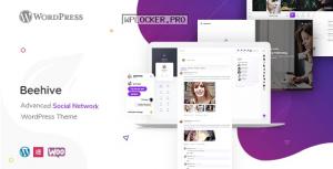 Beehive v1.2.9 – Social Network WordPress Theme