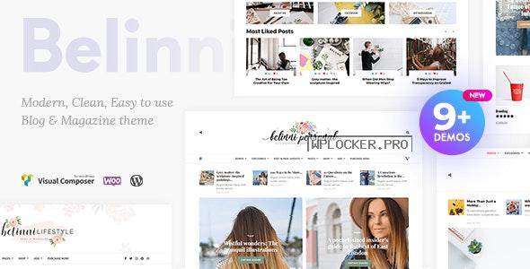 Belinni v1.5.1 – Multi-Concept Blog / Magazine WordPress Theme