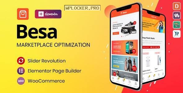 Besa v1.2.6 – Elementor Marketplace WooCommerce Theme