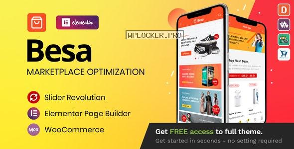Besa v1.2.9 – Elementor Marketplace WooCommerce Theme