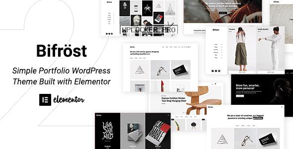 Bifrost v2.1.8 – Simple Portfolio WordPress Theme