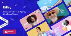 Billey v1.5.0 – Creative Portfolio & Agency WordPress Theme