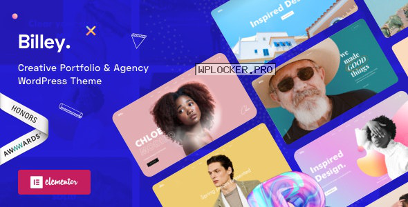 Billey v1.5.0 – Creative Portfolio & Agency WordPress Theme