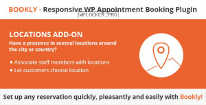 Bookly Locations (Add-on) v3.6