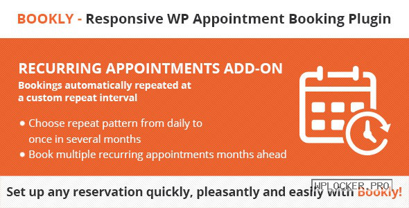 Bookly Recurring Appointments (Add-on) v3.6