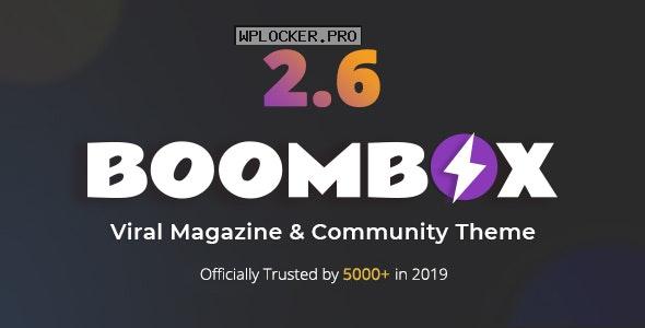 BoomBox v2.7.3 – Viral Magazine WordPress Theme
