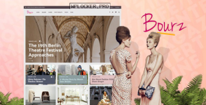 Bourz v7.0 – Life, Entertainment & Fashion Blog Theme