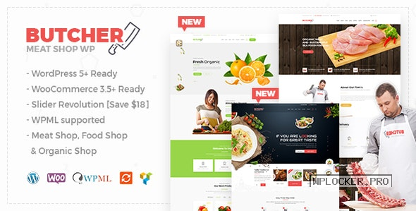 Butcher v2.22 – Meat, Organic Shop Woocommerce Theme