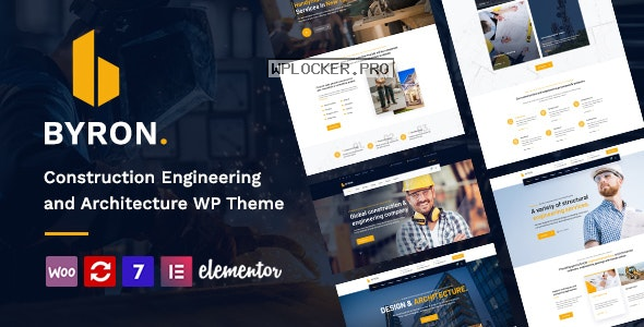 Byron v1.3 – Construction and Engineering WordPress Theme