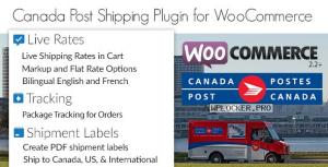 Canada Post Woocommerce Shipping Plugin v1.6.12