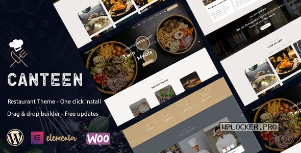 Canteen v1.0.2 – Restaurant WordPress Theme