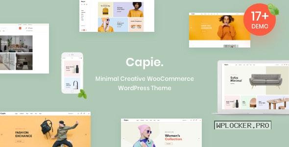 Capie v1.0.20 – Minimal Creative WooCommerce WordPress Theme