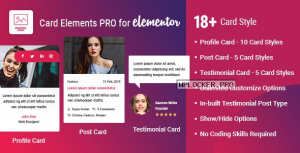 Card Elements Pro for Elementor v1.0.2
