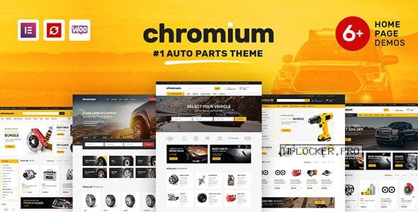 Chromium v1.3.17 – Auto Parts Shop WordPress Theme