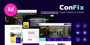 ConFix v1.0.2 – Expo & Events WordPress Theme
