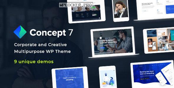 Concept Seven v1.11 – Responsive Multipurpose Theme