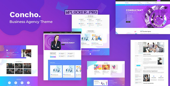 Concho v1.7 – HR, Consulting Services WordPress Theme